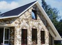 Монтаж фасадов, облицовка зданий кирпичом и камнем в Тамбове