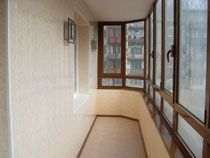Отделка балкона в Тамбове. Отделка лоджии